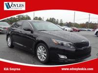 2015 Kia Optima EX Ebony Black 17 Alloy Wheels, 4-Way