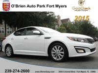 This 2015 Kia Optima EX is a great option for folks