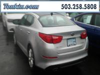 WOW!!! Check out this. 2015 Kia Optima EX Silver 2.4L