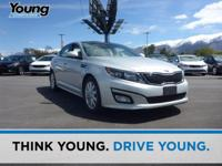 2015 Kia Optima EX. Leather. Power To Surprise! All the