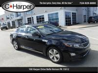 Check out this 2015 Kia Optima Hybrid EX. Its Automatic