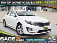Climb inside the 2015 Kia Optima Hybrid! Providing