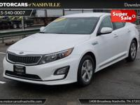 This 2015 Kia Optima Hybrid 4dr 4dr Sedan LX features a