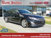 Aurora Black 2015 Kia Optima Hybrid EX FWD 6-Speed