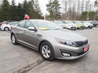 This 2015 Kia Optima LX features a braking assist, a