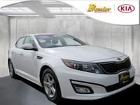 OPTIMA LX WITH CONVENIENCE PACKAGE! REAR BUMPER