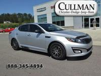 CARFAX One-Owner. Clean CARFAX. Silver 2015 Kia Optima