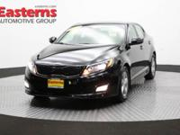 2015 4D Sedan Black 2015 Kia Optima LX FWD 2.4L I4 DGI