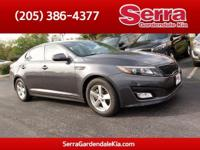 Platinum Graphite 2015 Kia Optima LX FWD 6-Speed