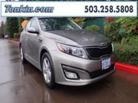 2015 Kia Optima LX 2.4L I4 DGI DOHC  CARFAX One-Owner.