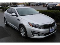Bright Silver 2015 Kia Optima LX FWD 6-Speed Automatic