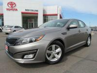 This 2015 Kia Optima comes equipped with back-up