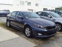 This 2015 Kia Optima LX in Blue features: FWD 6-Speed