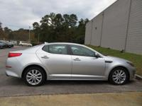 Clean CARFAX. Sparkling Silver 2015 4D Sedan Kia Optima
