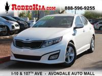 CarFax One Owner! This Kia Optima is CERTIFIED! Low