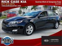 2015 Kia Optima LX in Black, Roadside Assistance, 10