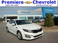 Options:  2015 Kia Optima Lx|White/|V4 2.4 L