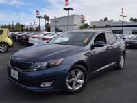 This 2015 Kia Optima LX will sell fast Oil Changed,