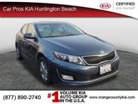 Web Special on this tip-top Vehicle!!! Kia CERTIFIED..