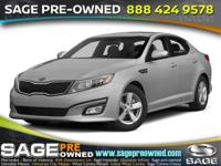 Outstanding design defines the 2015 Kia Optima! The