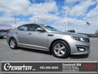 New Arrival! This 2015 Kia Optima LX will sell fast