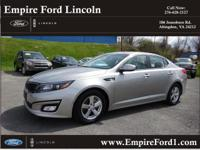Options:  2015 Kia Optima Lx|Lx 4Dr Sedan|2.4L|4