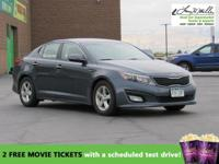 CarFax 1-Owner, This 2015 Kia Optima LX will sell fast