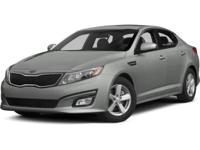 ~~ 2015 Kia Optima LX ~~ CARFAX: 1-Owner, Buy Back