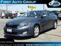 New Arrival! CarFax One Owner! This Kia Optima is