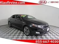 This 2015 Kia Optima SX Turbo has 240Hp ! Kia Certified