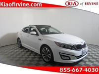 This White 2015 Kia Optima SX is a LOADED Turbo! Kia