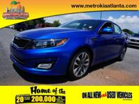 This 2015 Kia Optima SX is a real winner with features