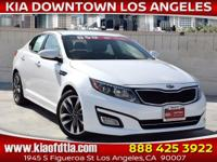CARFAX One-Owner. Clean CARFAX. White 2015 Kia Optima