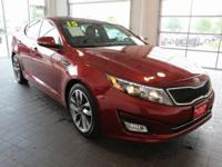 Options:  2015 Kia Optima Sx|Red|**Bluetooth**|**Carfax