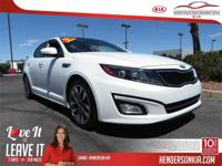 Options:  2015 Kia Optima Sx|White|Carfax One-Owner.