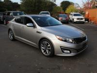 Silver 2015 Kia Optima SX Turbo FWD 6-Speed Automatic