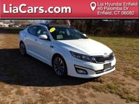 2015 Kia Optima in Snow White Pearl, Carfax Certified!,