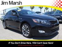 Optima SX Turbo, 2015 one-owner car with a clean Carfax