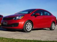 2015 Kia Rio LX in Signal Red, This Rio comes with