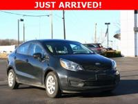 Rio Kia 2015 6-Speed Manual FWD 1.6L I4 DGI 16V  Recent