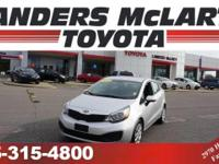 Priced below Market! This Kia Rio gets great fuel