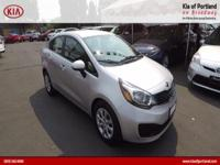 ~~ 2015 Kia Rio LX ~~ CARFAX: 1-Owner, Buy Back
