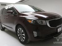 This 2015 Kia Sedona SX FWD with only 77,864 miles is