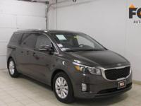 Looking for a clean, well-cared for 2015 Kia Sedona?