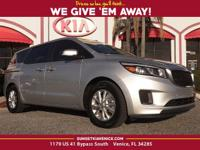 *KIA CERTIFIED*, *CARFAX ONE OWNER*.Kia Certified