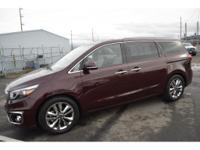 This Kia Sedona is fully equipped with everything that