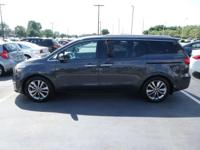 Check out this 2015 Kia Sedona SX-L. Its Automatic