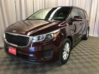 SEDONA LX ***1 OWNER ***KIA CERTIFIED 10 YR WARRANTY