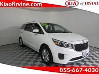 This 2015 Kia Sedona LX is Kia Certified with a 10yr