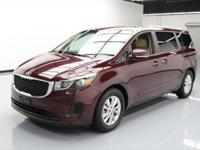 This awesome 2015 Kia Sedona comes loaded with the